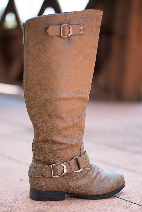 The Landon Boots, Natural - The Mint Julep Boutique