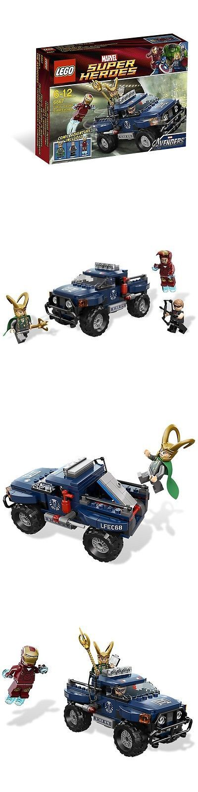 Mixed Lots 183451: Lego Marvel Super Heroes Loki S Cosmic Cube Escape Set 6867 New In Box -> BUY IT NOW ONLY: $47.45 on eBay!