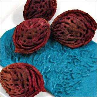 Polymer Tutorials: Polymer Clay Texture Ideas: Organic