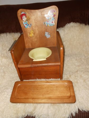 77 Best Vintage Potty Chair Images On Pinterest Potty
