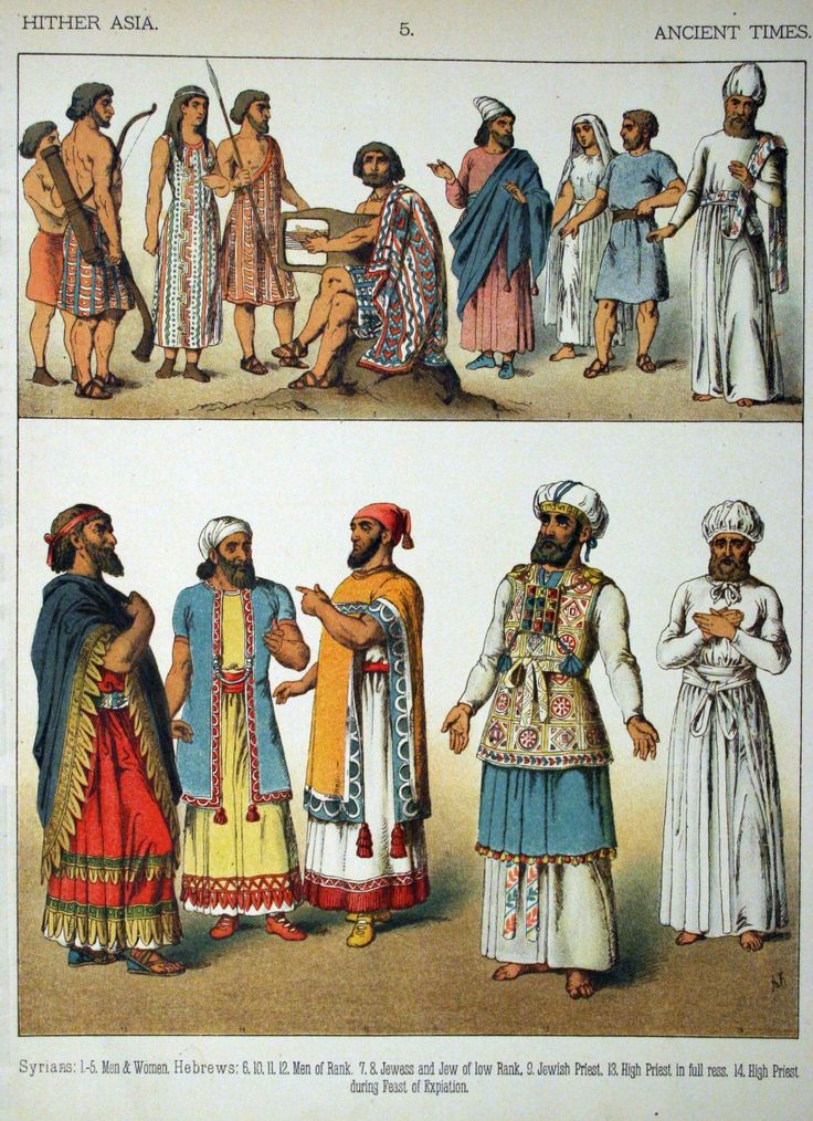 File:Ancient Times, Hither Asia. - 005 - Costumes of All Nations (1882 ...