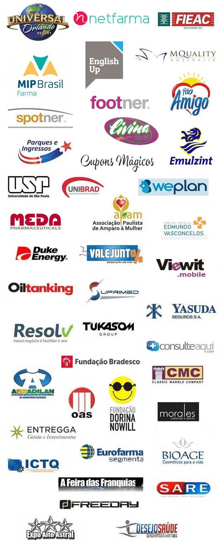 Confira nossa lista de clientes atuais e atendidos! Temos clientes dos setores de Consumo, Saúde, Beleza, Varejo, Finanças, Seguros, Tecnologia, Transporte, Logística, Energia, Educação, Turismo, Moda, Eventos, Entretenimento, Terceiro Setor, Indústria e Associações.