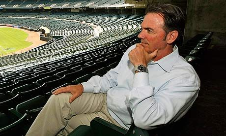 Billy Beane leaves Moneyball behind to refocus on statistical truths Brad Pitt portrayed him in a movie, but Beane is glad the hype is over now the 2012 Major League Baseball season is starting