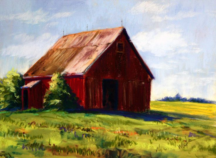 55 best images about barns on pinterest for Watercolor barn paintings