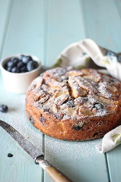 #Torta alle mele e mirtilli #Cirio #MenudiStagione #MenudiStagioneCirio #Autunno #dessert #apple