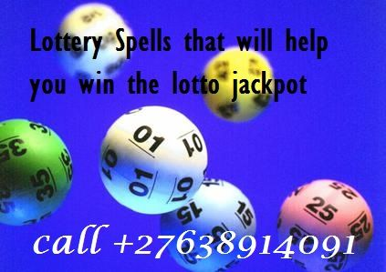 Strong Lottery spell caster call +27638914091