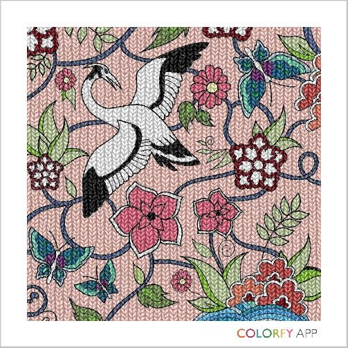 swan 5th #colorfy