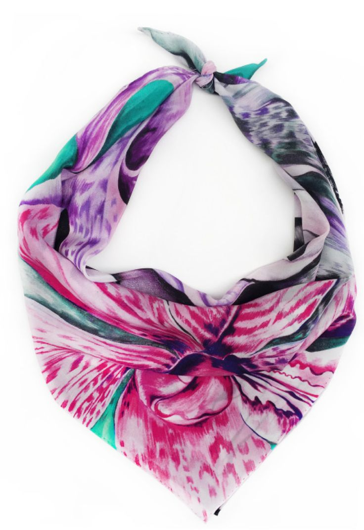 Shop the 'Sienna' Luxury Silk Small Scarf online. All Leanne Claxton scarves are taken from a series of oil painted canvases by the artist, which are digitally transformed and printed onto 100% silk. View our Winter 2016 Digital collection, available in a range of colours, styles and sizes, at www.leanneclaxton.com