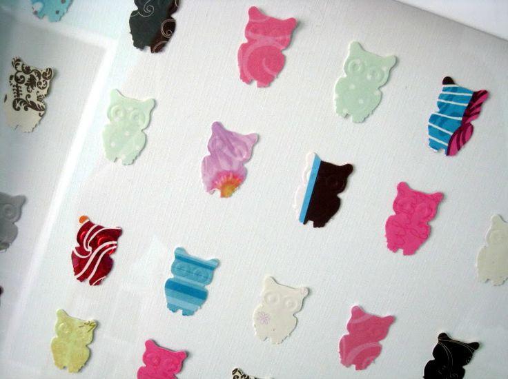 World of Dennifer: Project Nursery - DIY owl wall art + tutorial