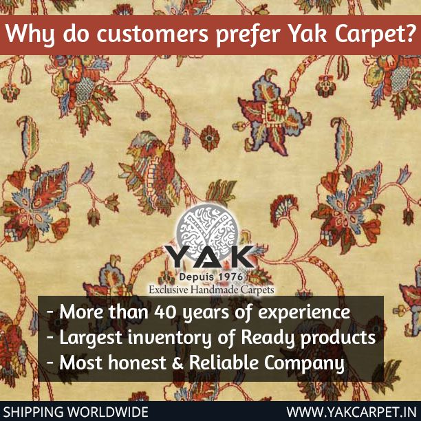 40 years of Handmade Carpet luxury!! Why @yakcarpetindia ? . . Also @yakcarpetindia wishes it's carpet connoisseurs a very Merry Christmas!! 🎄🎁 . . . #silk #silkrugs #handmade #since1976 #yakcarpet #yakcarpetindia #contemporary #countryside #interiors #intricacy #inspiration #indiancarpets #home #houzz #handmade #homedecor #homegoods #fineart #art #elledecorindia #color #carpets #rugs #ruggoals #rugsonline #dfordelhi #december #decoration #inspiration