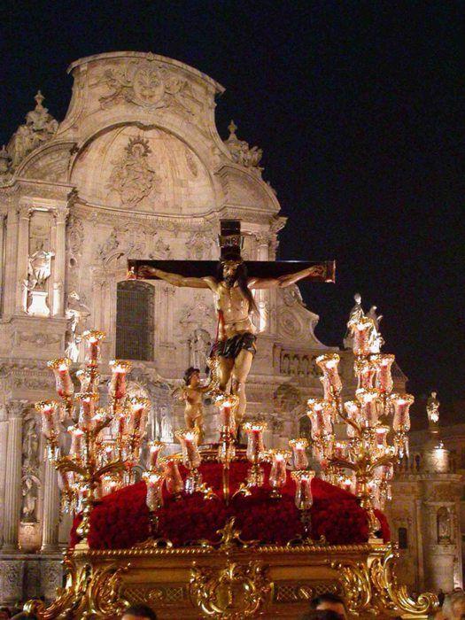 Semana Santa Murcia  Santísimo Cristo de la Sangre.