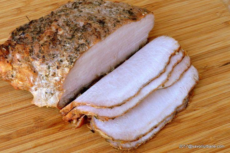 mezel de casa din cotlet de porc