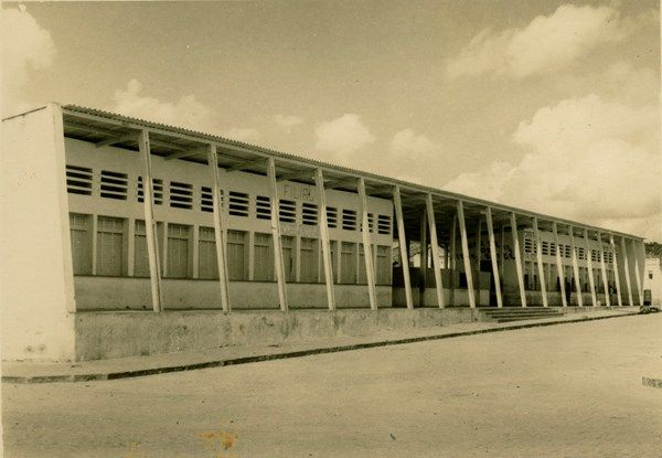 Mercado Municipal Itaberaba Ba 1957 Brasil Bahia Antiga