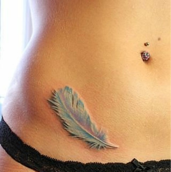 #tattoo #feather #pastel #beautiful #want #need #love #getting