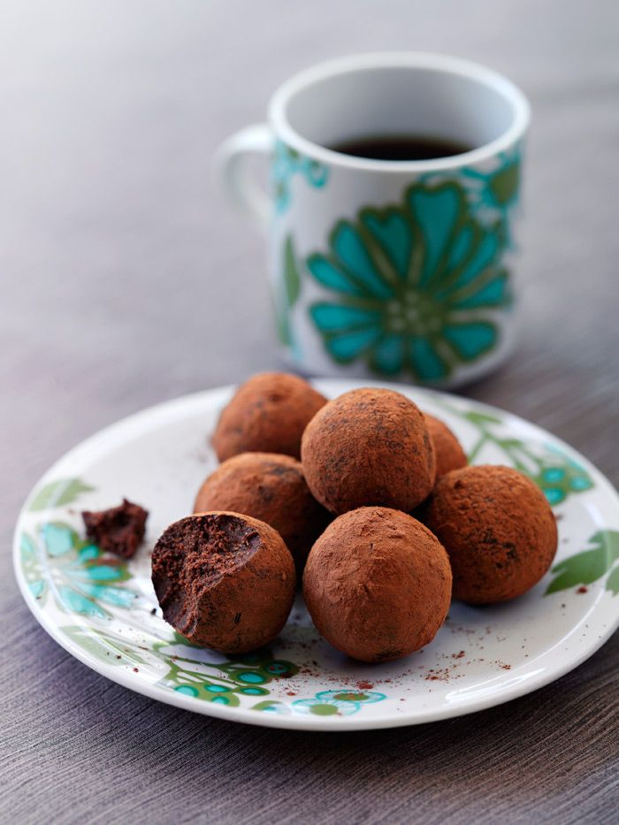 how to make digestive truffles