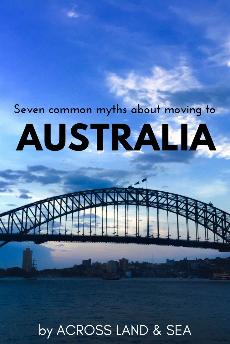 Seven common myths about moving to Australia which are simply not true...