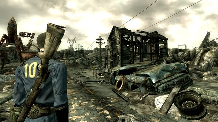 Fallout 3 - one of my favourite games of all time.