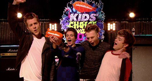 The Vamps Kids Choice Awards 2014........so happy they won.....I voted for them like a million times
