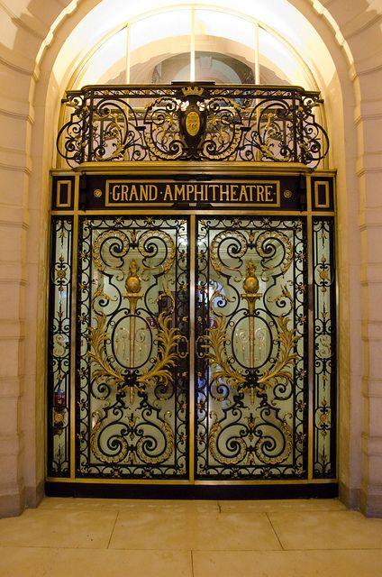 Le Grand Amphithéâtre - Sorbonne, Paris