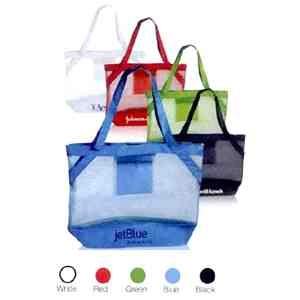 Mesh beach bag tote!