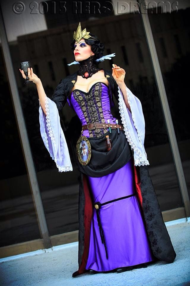 Steampunk Disney Costumes Best 25+ Evil queen ma...