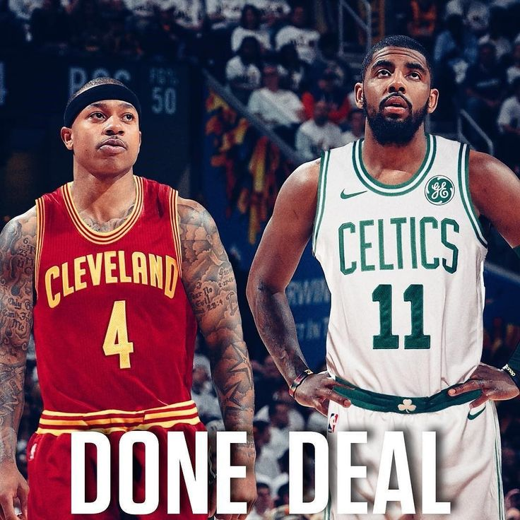 #ICYMI: @KyrieIrving & @IsaiahThomas Trade Is A #DoneDeal! #FYI @Celtics VS @Cavs first reg season @nba game is Tues Oct 17 8pm on @NBAonTNT  in Cleveland then 1/3/18  @tdgarden & 2/18/18 @tdgarden! Who's ready?! For more info b87fm.com