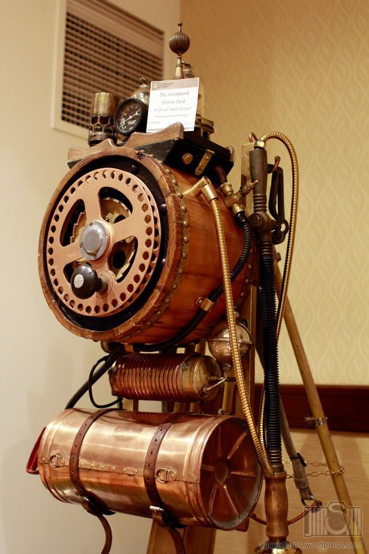 15 best steampunk ghostbusters images on pinterest for Steampunk furniture diy