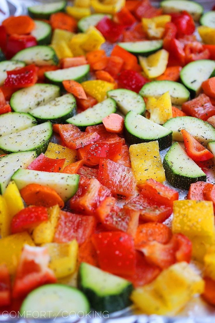 The Comfort of Cooking » Easy Roasted Summer Vegetables