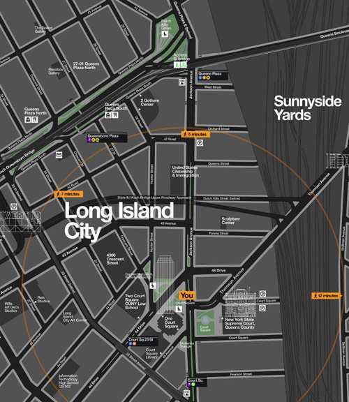 The Nyc Department Of Transportation Will Begin Using Wayfinding Maps To Encourage Walking And