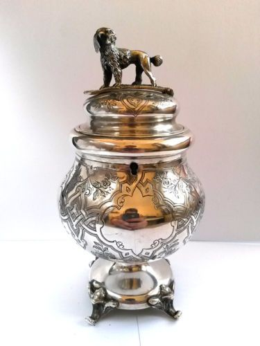 RARE-antique-Imperial-Russian-84-silver-money-boxes-charity-boxes-1867