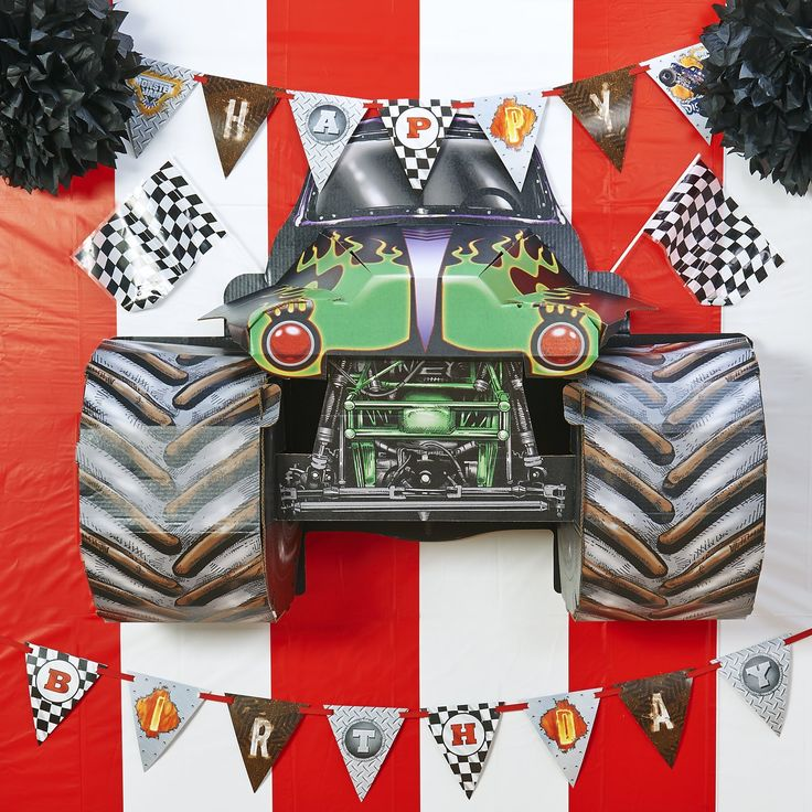 Best Monster Trucks Images On Pinterest Birthday Party Ideas