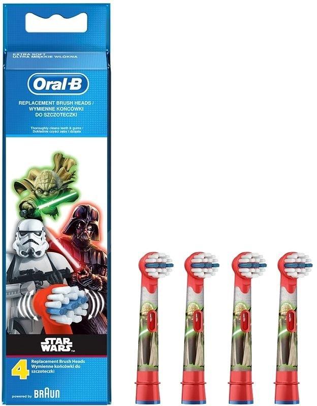 Oral-B Kids Star Wars pótfej 4 darab - Tartozék