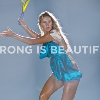 Victoria Azarenka is strong and beautiful