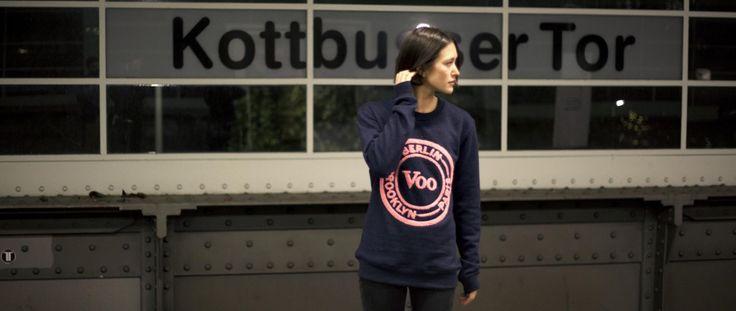 My Favorite store voo designed a very nice Sweater.   Voo Berlin.