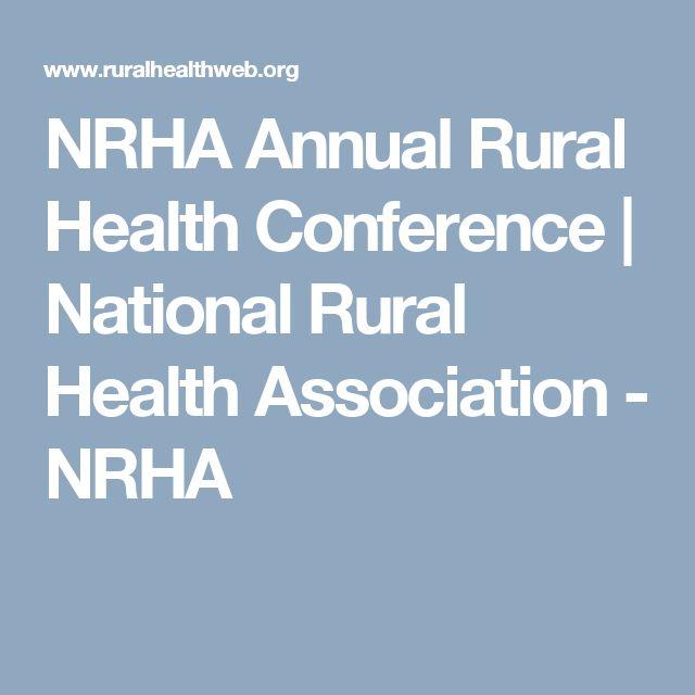 NRHA Annual Rural Health Conference | National Rural Health Association - NRHA