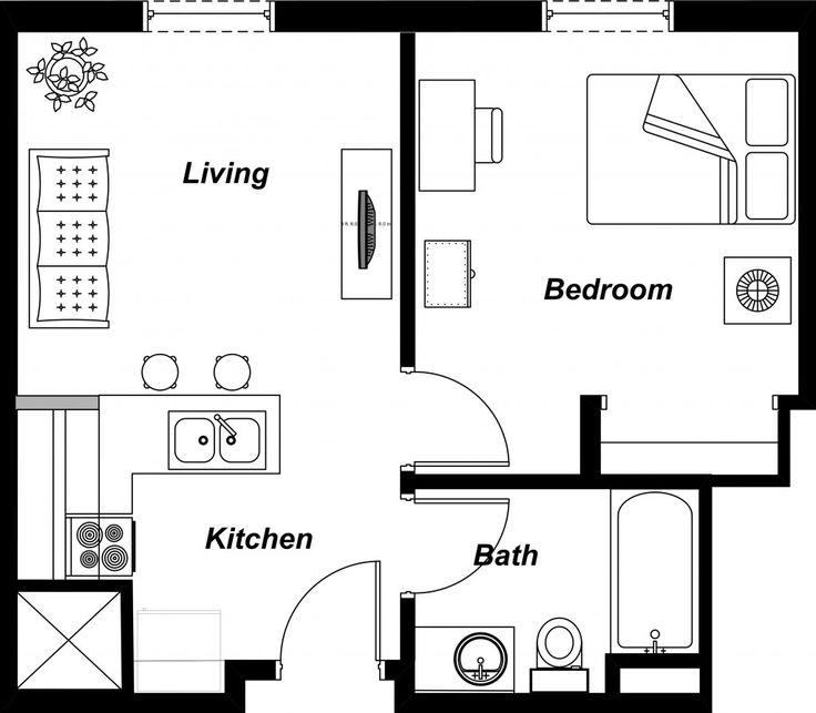 Studio Apartment Floor Plans New York - Interior Design