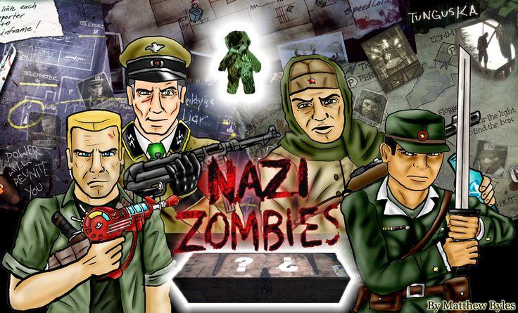 Call Of Duty Zombies Wallpaper HD  x