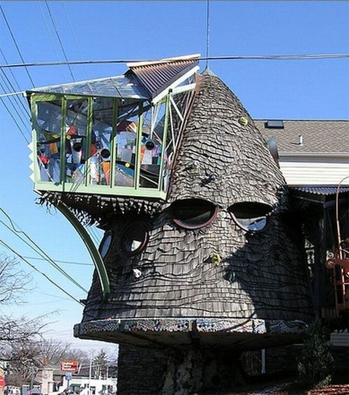 Erie Avenue, Cincinnati - this reminds me of the sorting hat from Harry Potter