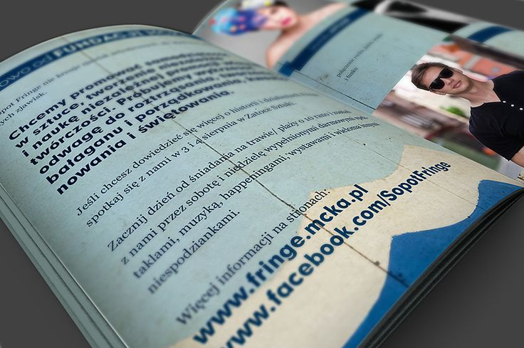 Fringe Sopot Festival Brochure Design
