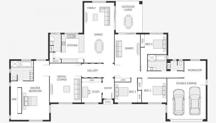 Floor Plan Friday: Ranch symmetry