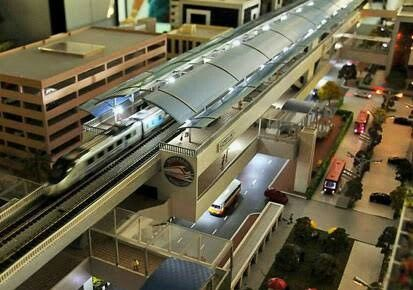 First Metro Railway Station : At Uppal   Kerala