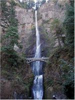 Multnomah Falls along the Historic Columbia River Highway,many more to see along the route.