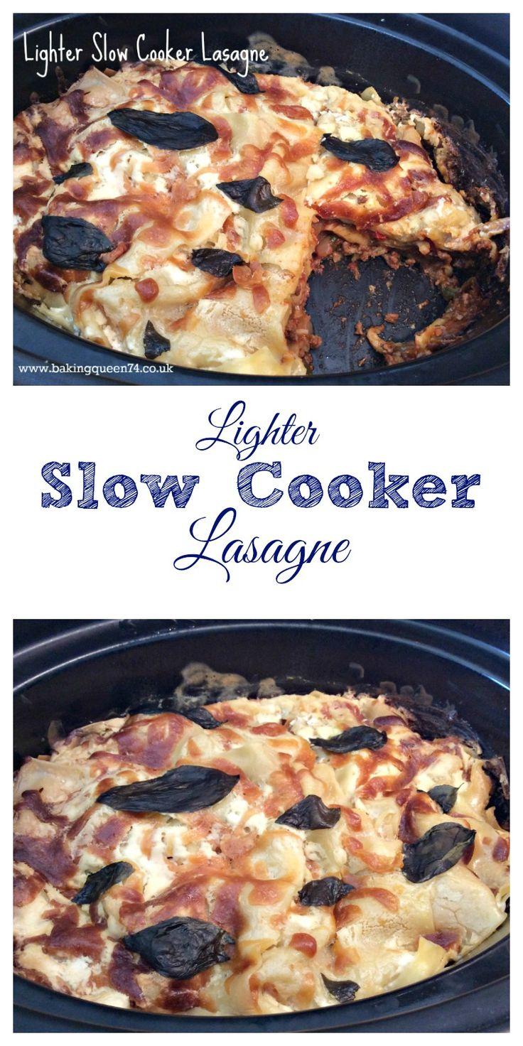 Lighter Slow Cooker Lasagne - bakingqueen74.co.uk
