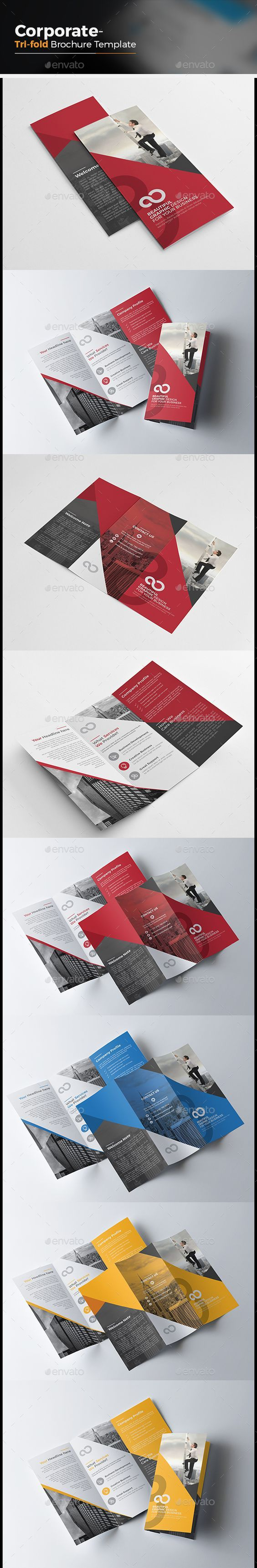 Corporate Tri fold Multipurpose Brochure Template Vector EPS, AI #design Download: http://graphicriver.net/item/corporate-tri-fold-multipurpose-brochure/13991747?ref=ksioks: