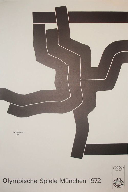Olympic Games Munich / Chillida / Poster / 1972