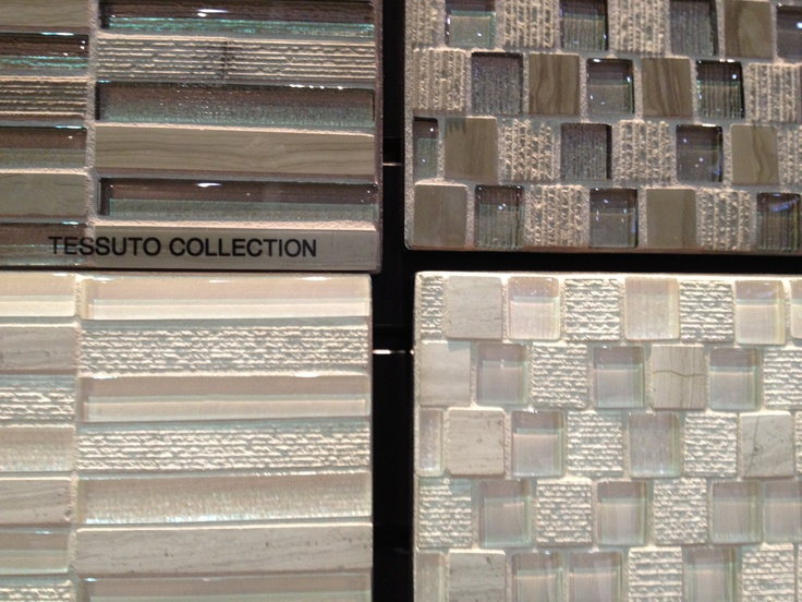 Tessuto collection from bedrosians tile textured glass for Textured backsplash