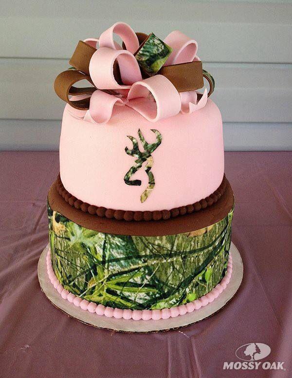 Mossy Oaks cake