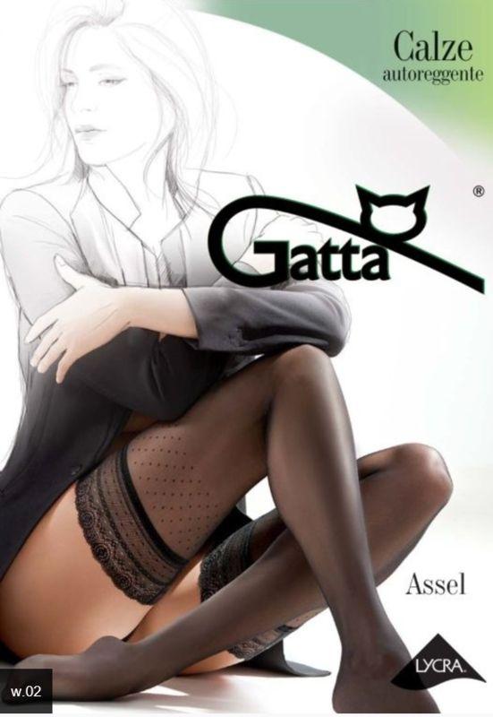 Kousen Gatta zwart met stippen
