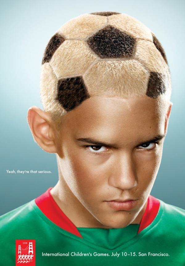 Soccer ball head