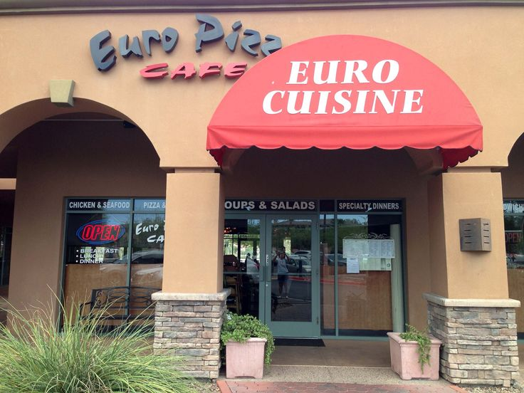 Euro Pizza Cafe In Fountain Hills